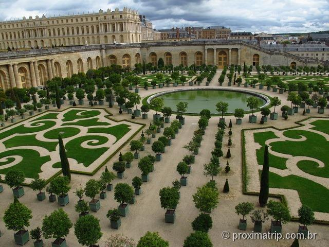 Palácio de Versalhes - jardins
