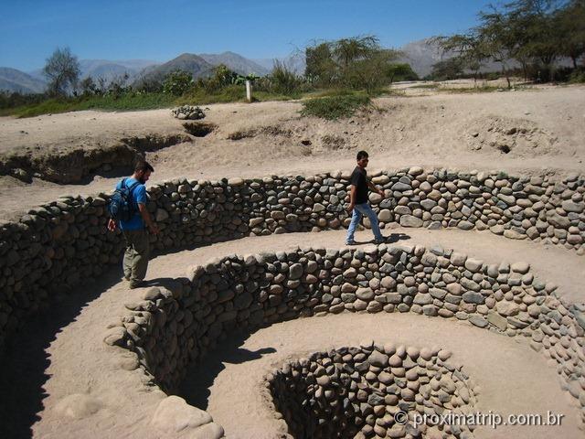 Nazca: Aquedutos de Cantalloc