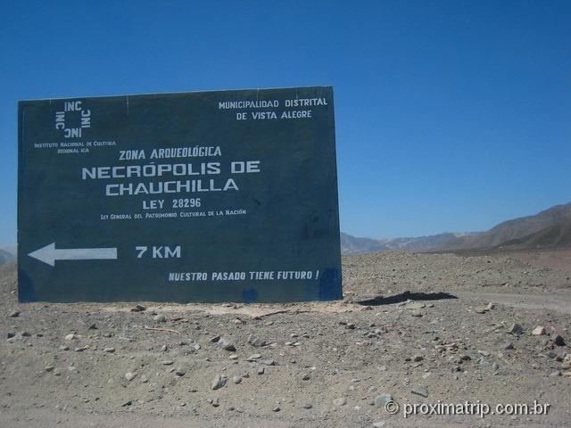 Cemitério de Chauchilla em Nazca - Perú