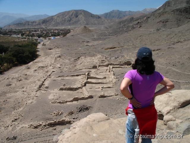 Nazca: Ruínas Paredones/Caxamarca