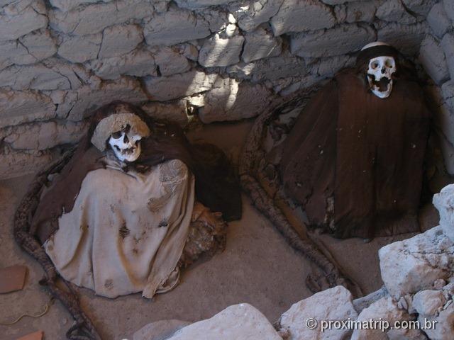 Nazca: Cemitério de Chauchilla