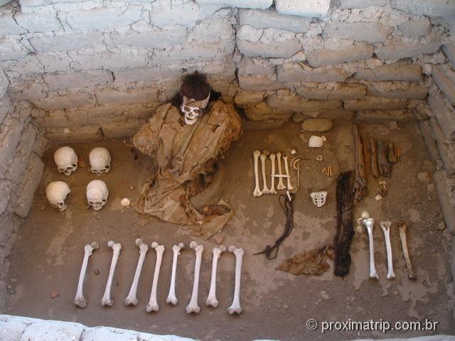 Cemitério de Chauchilla - Nazca - Perú