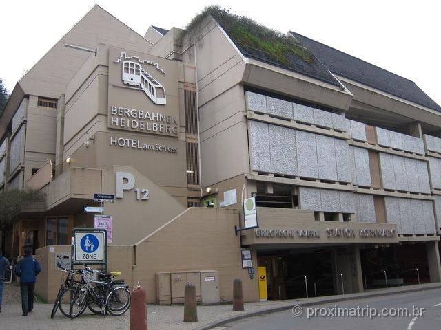 Estação do Funicular - Heidelberg