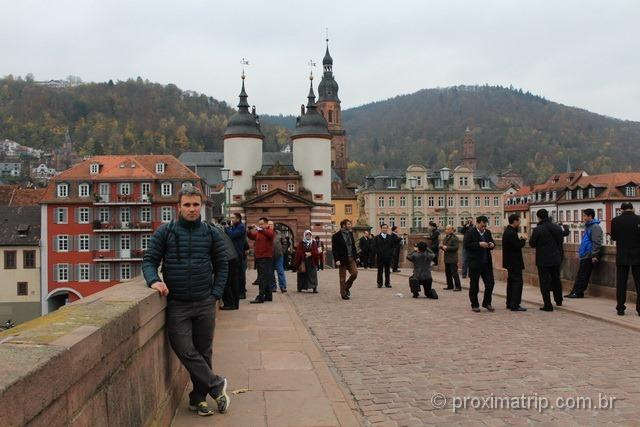 Ponte velha - Heidelberg