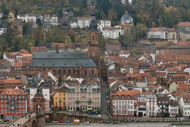 Heiliggeistkirche (igreja do espírito santo) - Heidelberg