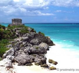 Atrações turísticas em riviera-maya