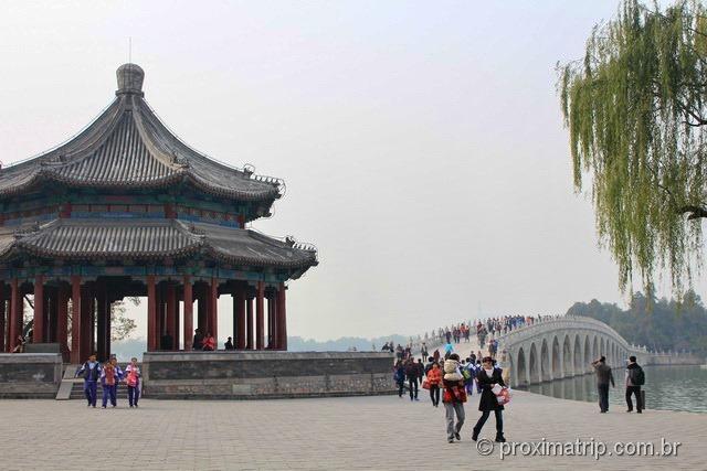 OSpacious Pavillon e Ponte dos 7 arcos no Palácio de Verão