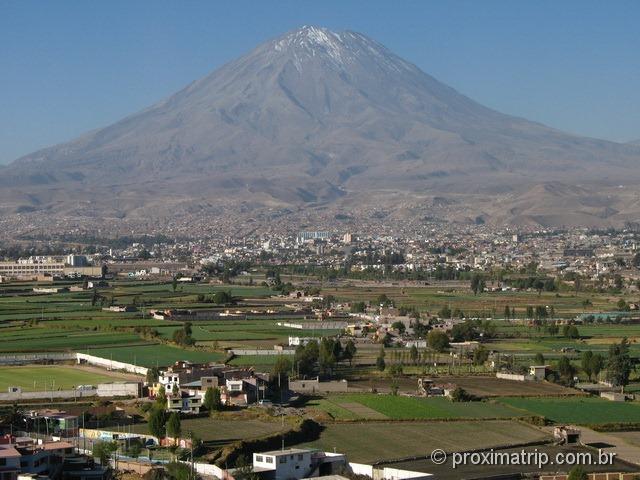Vulcão El Misti, em Arequipa