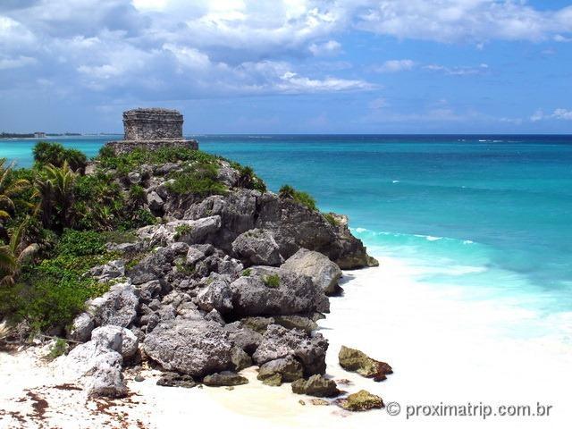 Tulum: ruínas e um mar lindo para completar o cenário