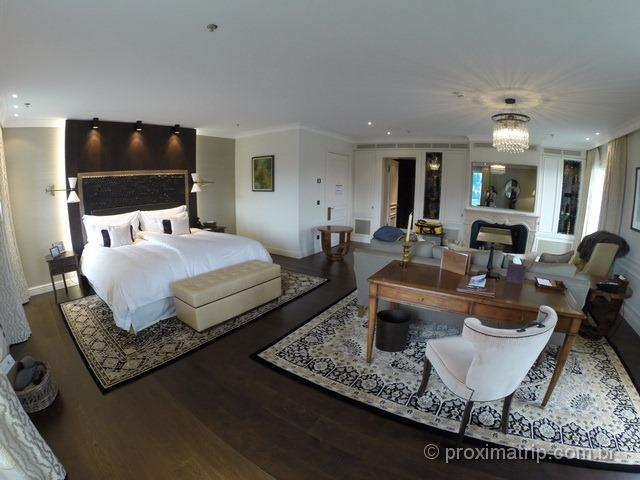 Suite Master do hotel Villa Honegg