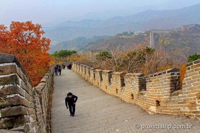 Grande Muralha da China em Mutianyu