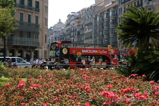 Ônibus Turístico em Barcelona
