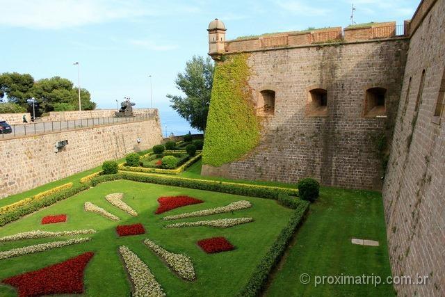 Parque Montjuic - Castelo
