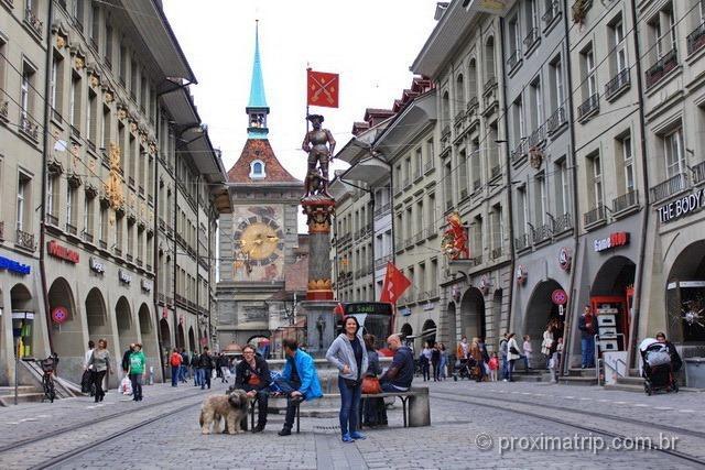 Fontes de água potável em Berna