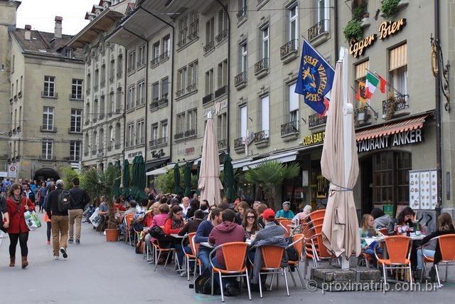 Onde comer em Berna