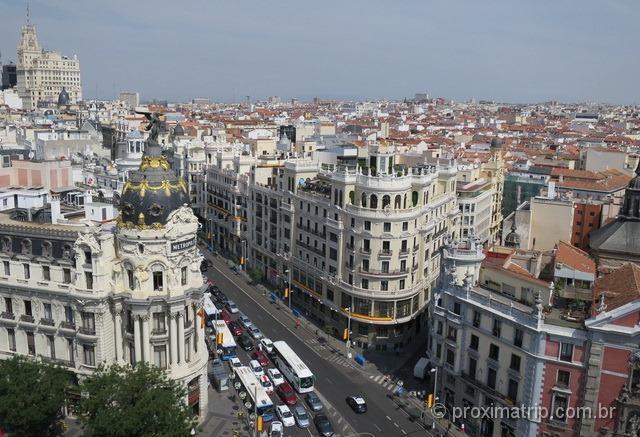 Vista panorâmica de Madri