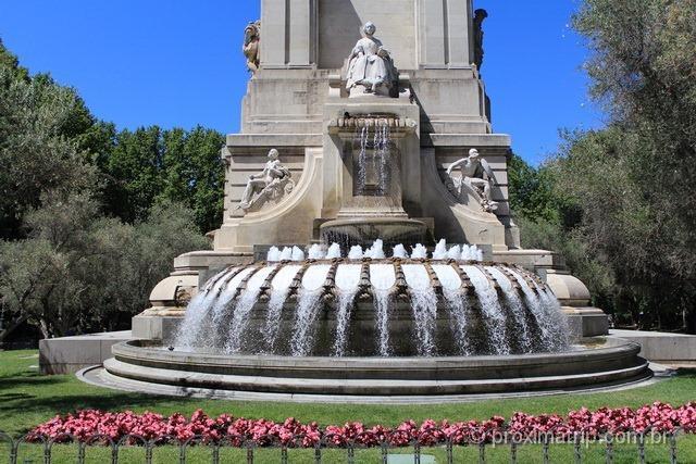 Parques e Praças em Madri: fontes, plantas e monumentos