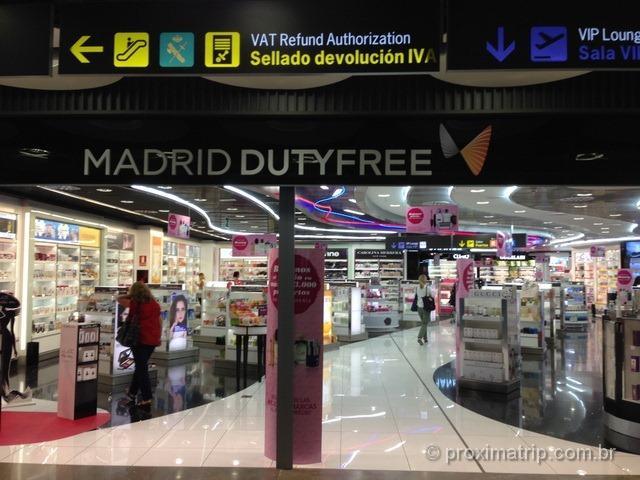 Onde fica o Tax Free nos aeroportos