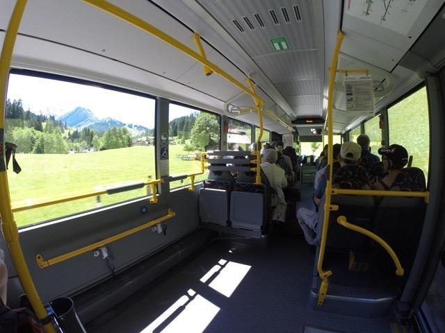 ônibus 230 - como chegar ao lago Blausee na Suíça