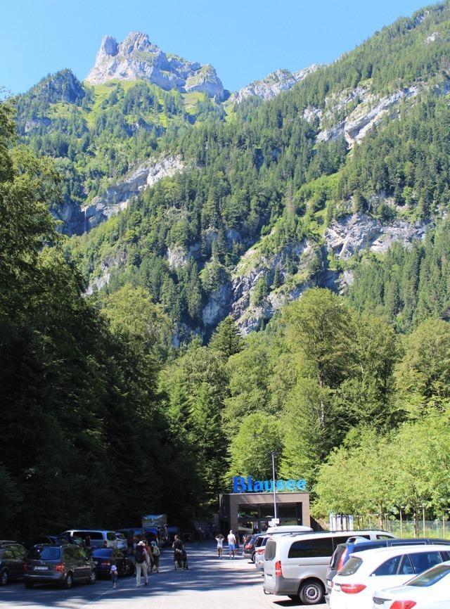 Entrada do Parque do Lago Blausee - Suíça