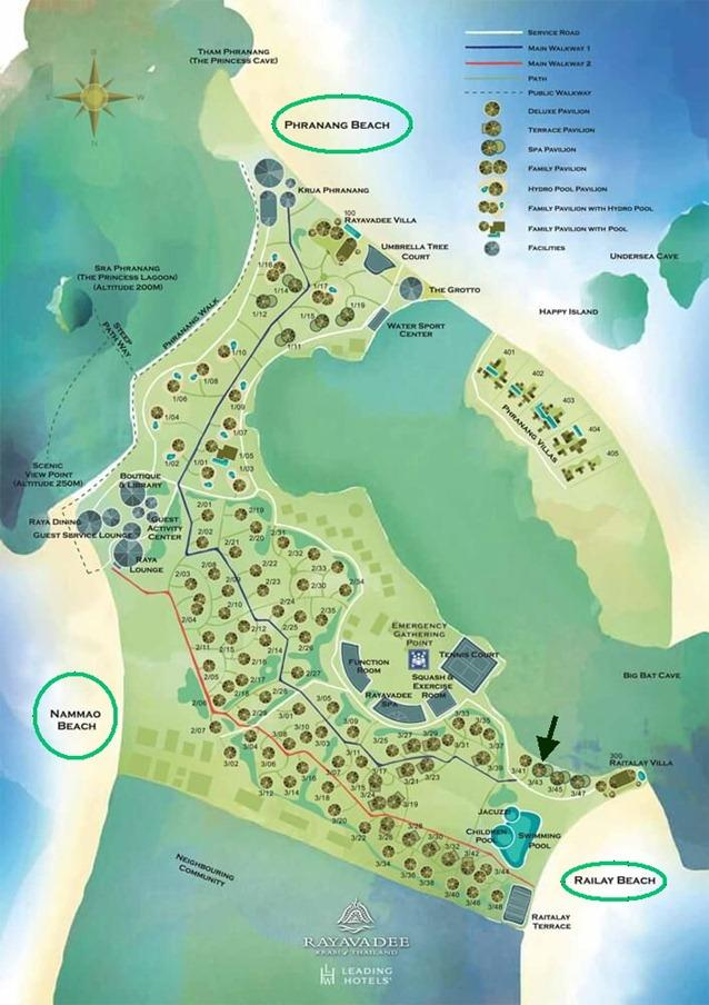 hotelrayavadee-mapa