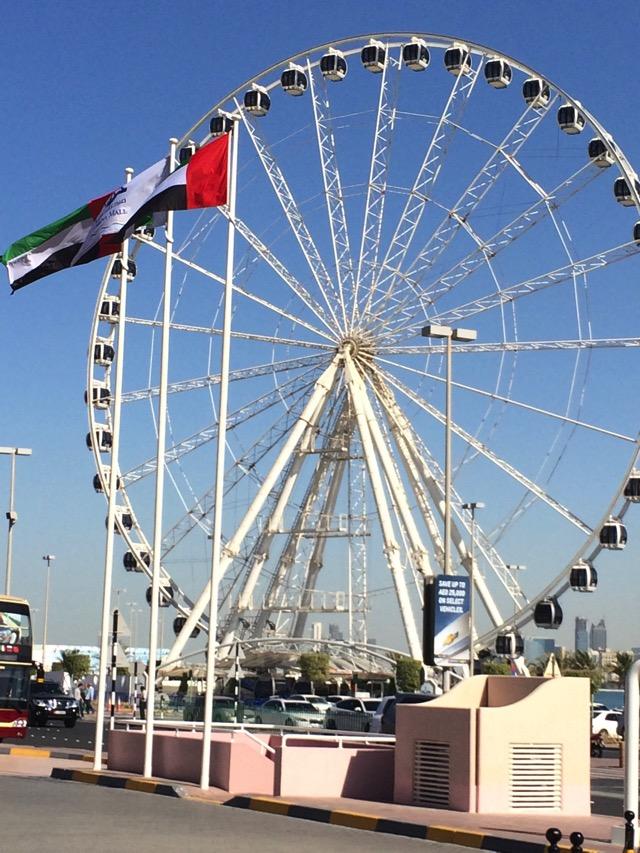 Marian eye roda gigante abu dhabi