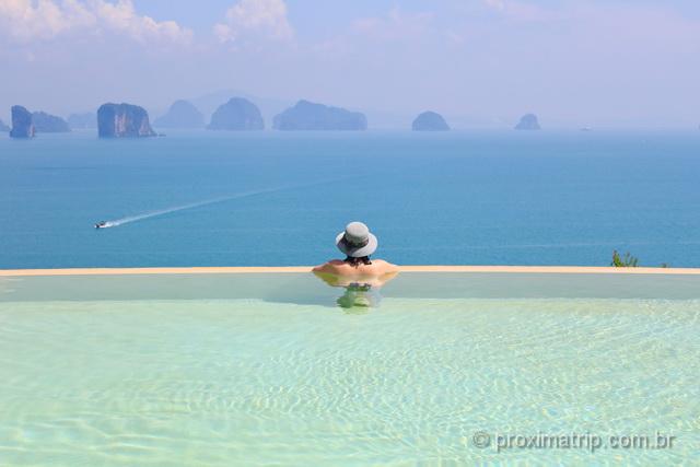 uma das piscinas de borda infinita mais lindas do mundo!