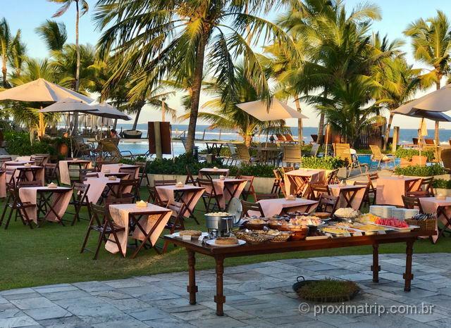 Chá da tarde no Nannai Resort & Spa