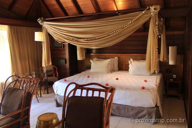 Nannai Resort & Spa: Interior do Bangalô super luxo com piscina