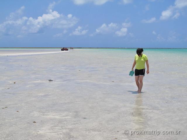 Praia de Antunes, em Maragogi