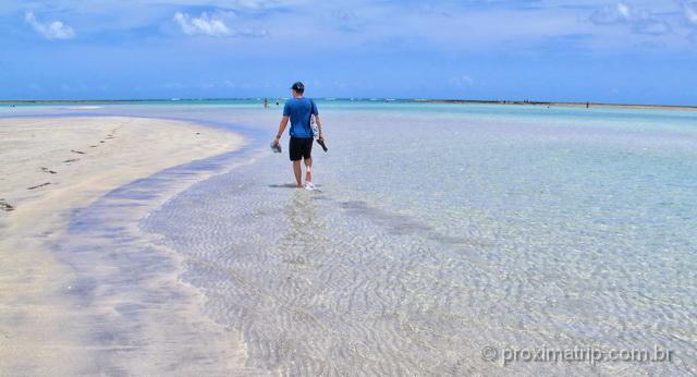 Praia de Antunes, em Maragogi - uma das mais bonitas do Brasil!
