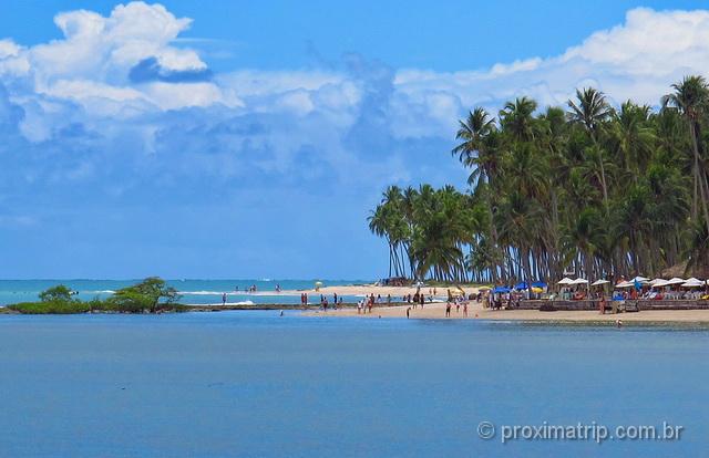 Coqueirais e a belíssima praia dos Carneiros - Pernambuco