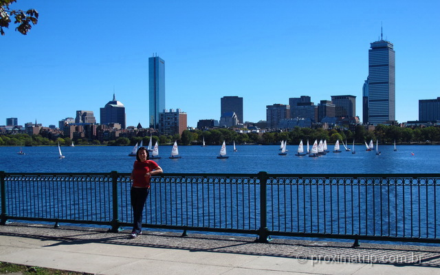 Passeio as margens do Charles River em Boston