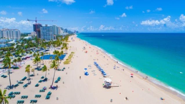 Fort Lauderdale Beach Florida USA