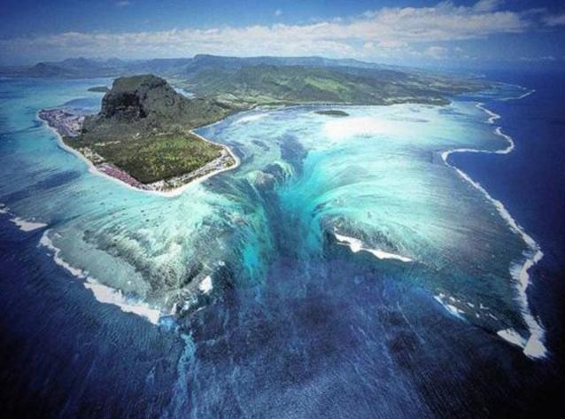 Illusionwaterfall mauritius