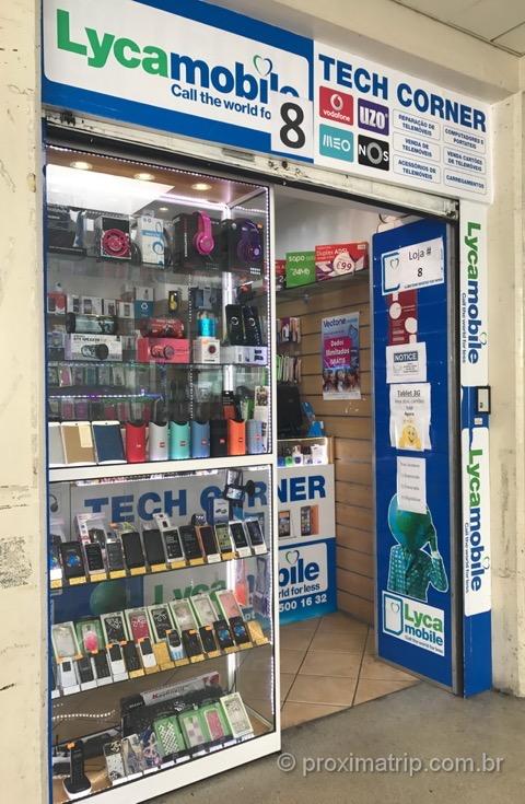 Vendinha chips celular pre pago portugal onde comprar e como usar