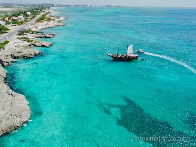 Passeios de barco em Aruba