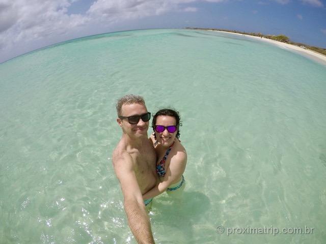 Arashi beach em Aruba