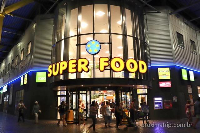 Supermercado Super Food em Aruba