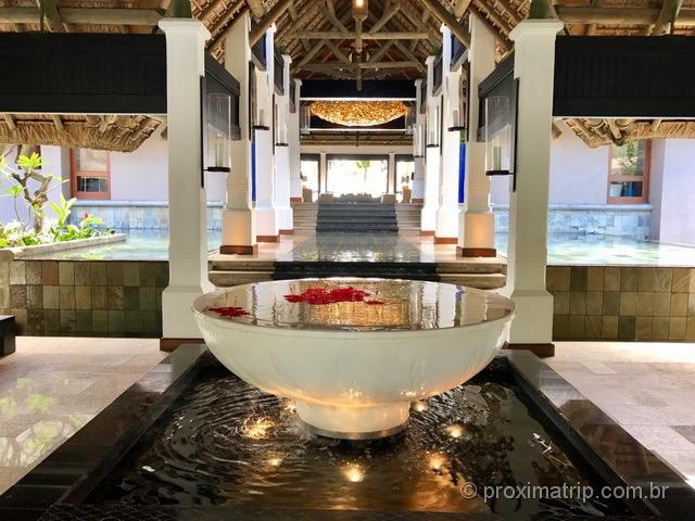 Lobby do Hotel/Resort Constance Belle Mare Plage