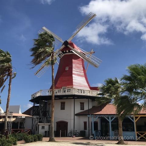 Moinhos em Aruba