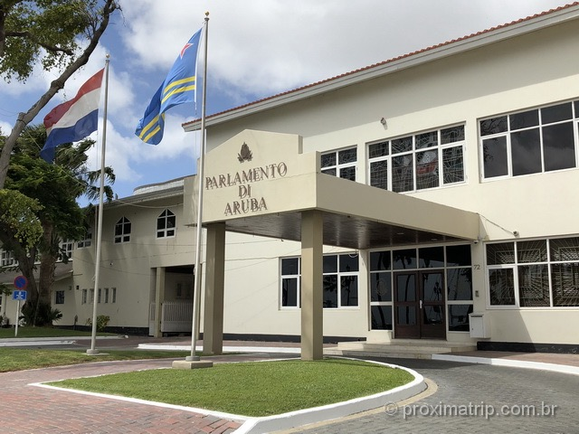 Parlamento de Aruba em Oranjestad
