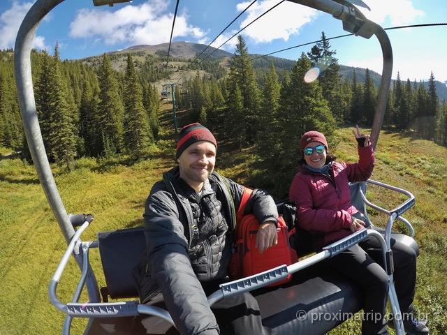 O que fazer em Banff: Teleférico em Lake Louise