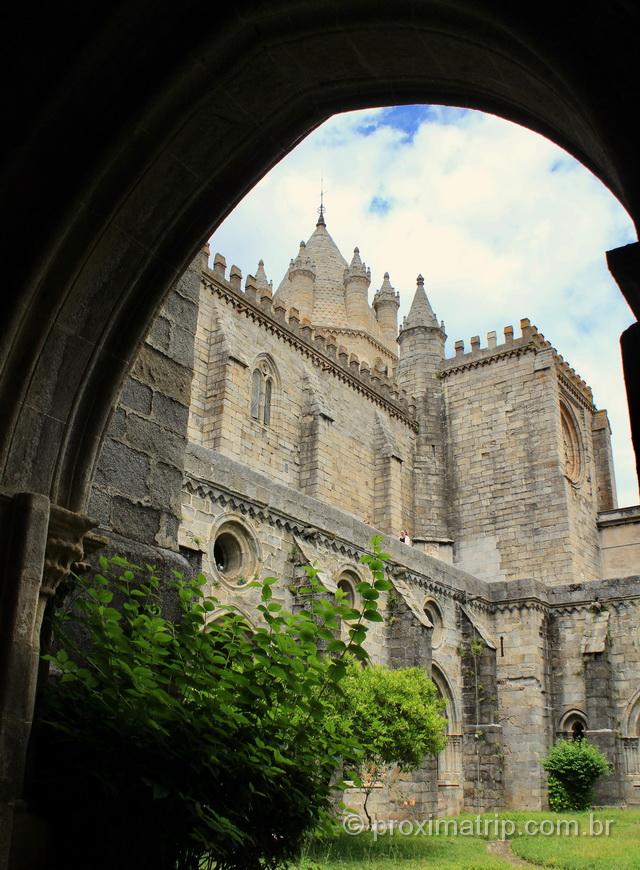 o que fazer Évora - catedral sé