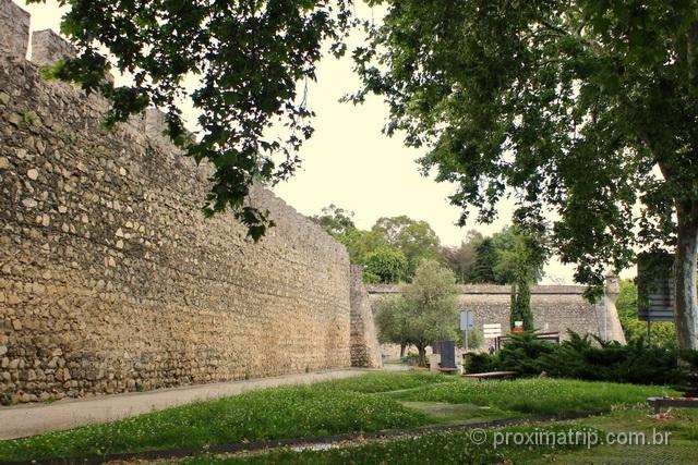 Muralha de Évora, erguida no século XIV