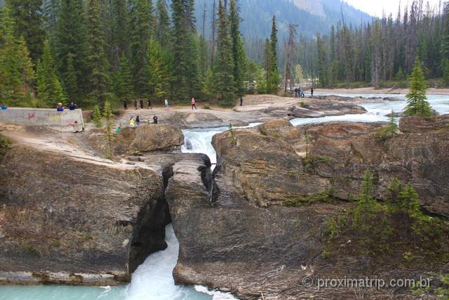 O que fazer em Banff: Natural Bridge
