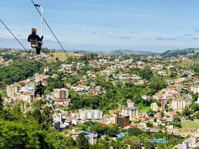 O que fazer em Serra Negra: Teleférico