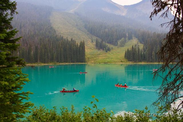 O que fazer em Banff: Emerald Lake