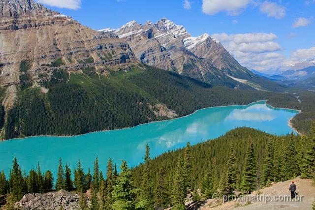 O que fazer em Banff: Peyto Lake