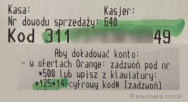 Top up plano pre pago celular polonia como fazer